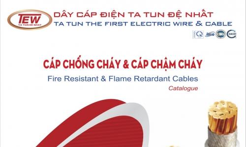 Catalogue Cáp Chống Cháy và Chậm Cháy