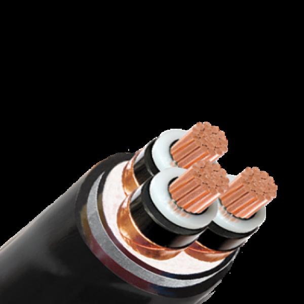 Cáp trung thế có màn chắn kim loại cấp điện áp từ 3.6 6 (7.2) KV đến 18 30 (36) KV